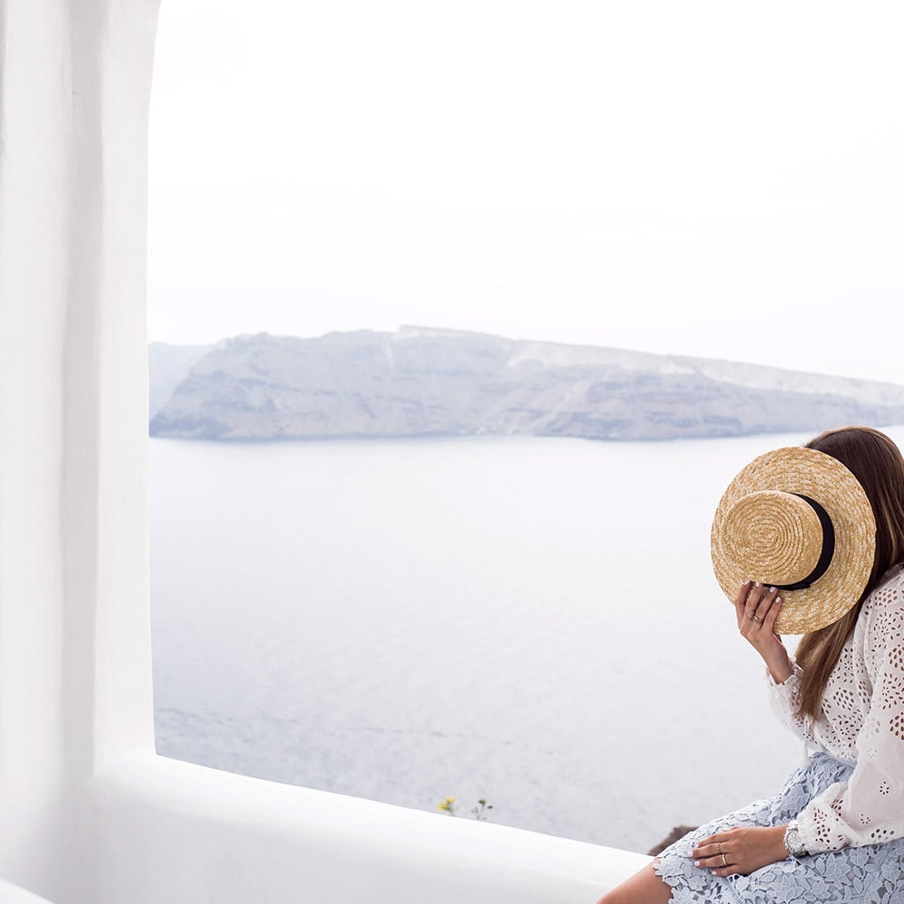 Honeymoon in Santorini